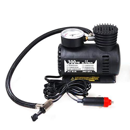 LINMAN Accesorios para automóviles portátiles Automotriz Durable Vehículo Mini compresor de Aire 300 PSI Bomba de inflador de neumáticos Piezas de Coche 12V