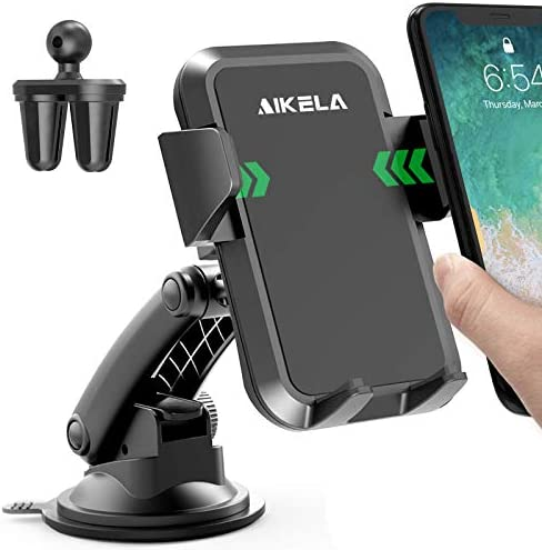 AIKELA Car Phone Mount 3 in 1 Cell Phone Holder for Car Dashboard Windshield Air Vent with Washable product image