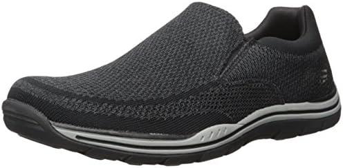Skechers USA Men s Expected Gomel Slip on Loafer Black 13 M US product image