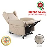 goldflex - Poltrona MOD. Good Relax 2 Motori reclinabile elettrica alzapersona motorizzata per...