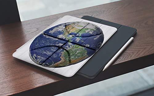 MEMETARO Funda para iPad 10.2 Pulgadas,2019/2020 Modelo, 7ª / 8ª generación,Baloncesto Tierra Forma, Smart Leather Stand Cover with Auto Wake/Sleep