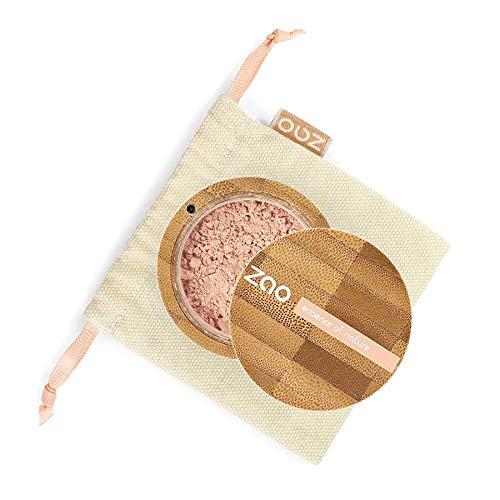 Zao - Bambus Mineral Silk - Mineralpuder - Nr. 502 / Pinkish Beige - 13,5 g