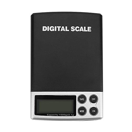 Balances de Cuisine Électronique, 1 kg / 0.1g, Balances de Cuisine numériques, Balance de Précision Digital, Écran LCD Rétroéclairé