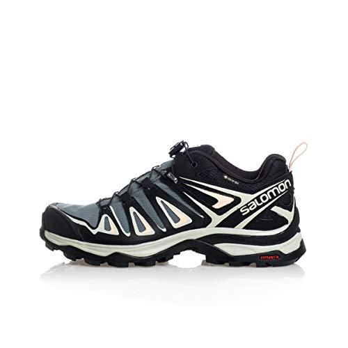 SALOMON Shoes X Ultra, Scarpe da Trekking Donna, Grigio (Verde balsamo/Grigio Minerale/Bellini), 40 2/3 EU