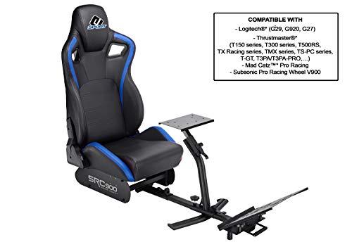 Subsonic - Sedile Di Simulazione Benna con Supporto per Volante E Pedali - Cockpit Di Guida Src 900 per PS4, Xbox One e PC - PlayStation 4