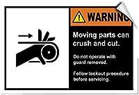 金属の駐車標識、警告可動部品クラッシュカットガード付き操作、ヴィンテージ金属スズポスターガレージオフィスクラブバー壁アールデコカフェショップホーム金属塗装居酒屋装飾