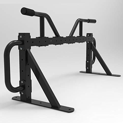 Equipo de entrenamiento en casa Muro de barbero en barra extraíble pull-ups barra barra horizontal entrenamiento barra tirando el anillo de cuerda equipo de aptitud acero negro Gimnasio para hombres y
