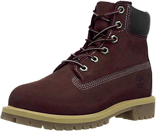 Timberland Damen 6 Inch Junior Boots rot 36