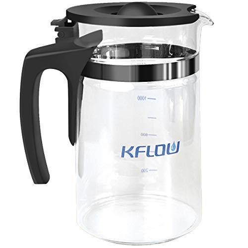 KFLOW Umkehrosmose Wasserfilter Ersatzkaraffen, Ersatzglas für KFL-ROPOT-175 und KFL-DT-180