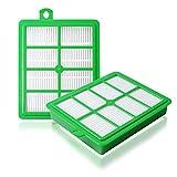 Wadoy Replacement EL012B Electro H12 Hepa Filter Compatible with Electrolux EL4050 EL4100 EL4101A El4335A EL6986A EL012W Vacuums Cleaner (2 Packs)