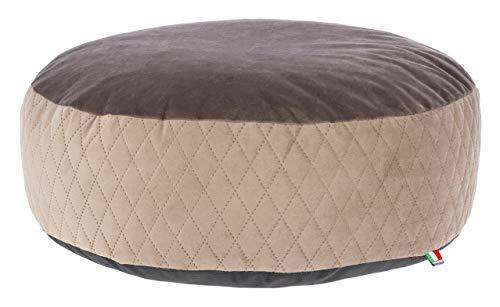 Maxi-Pet 80392 - Cuscino per Sedia a Sdraio, 60 x 18 cm, Colore: Tortora/Marrone