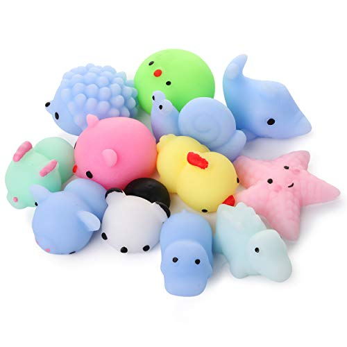 Mr. Pen- Squishy Toys  12 Pack  Squishy  Squishes for Kids  Squishy Toy  Squishy Pack  Squishes  Squishy Animals  Mochi Squishy  Stress Relief Toy  Mini Squishes  Animal Squishies  Small Toys for Kids