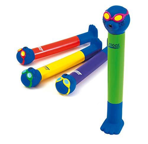 Zoggs Kinder Schwimmspielzeug Dive Sticks, Multi, OneSize