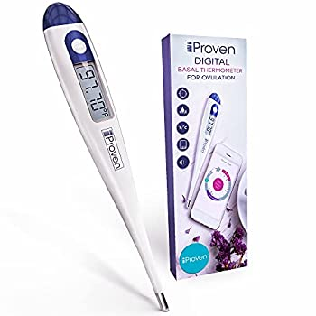 Basal Body Thermometer - Ovulation Predictor - BBT for Fertility Tracking - Works with Every Ovulation APP - Accurate and Highly Sensitive - for Natural Family Planning - BBT-113Ai by iProven