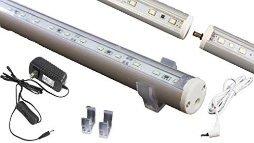 LEDupdates Showcase Display LED Light Linkable for Jewelry Display C3014 Series with ETL Listed Power Supply (65