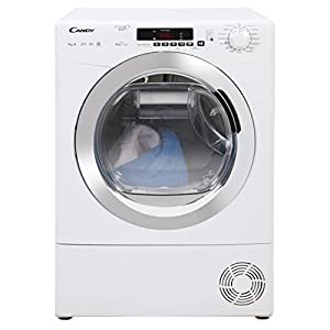 Candy GVS H9A2DCE Freestanding Heat Pump Tumble dryer, NFC Connected, 9Kg Load