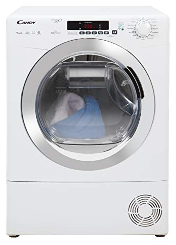 Candy GVS H9A2DCE Freestanding Heat Pump Tumble dryer, NFC Connected, 9Kg...