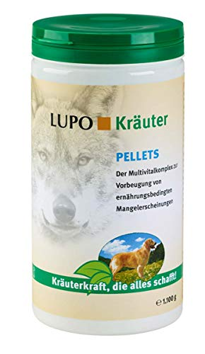 Luposan Kräuter Pellets für Hunde (1100 g)