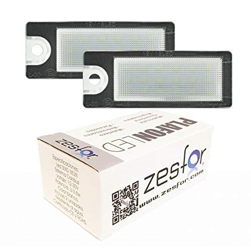 Zesfor Luces de matrícula LED para Volvo XC90 (03-)