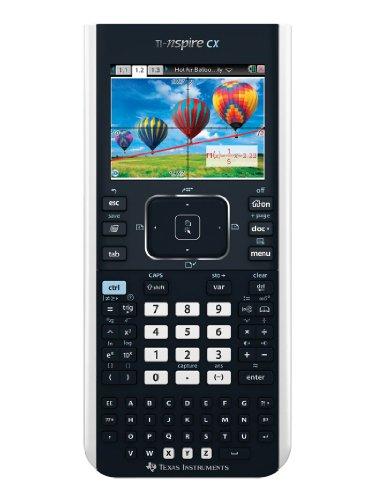 Texas Instruments TI-Nspire CX Calcolatrice Grafica, Imballaggio senza frustrazione Calcolatrice Nero