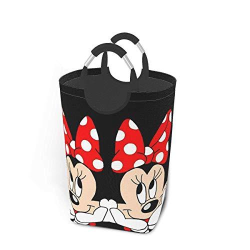 keben Cesta plegable para la colada, cesta de almacenamiento de la ropa, bolsa de ropa Minnie de 50 l
