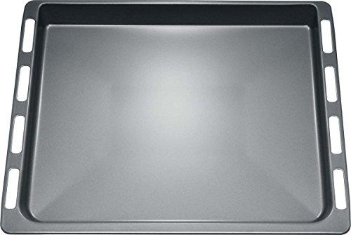 Bosch HEZ331003 Backofen- und Herdzubehör/Emailliertes Backblech für Kuchen, Plätzchen, Brot, Brötchen, Hefezopf und Stollen