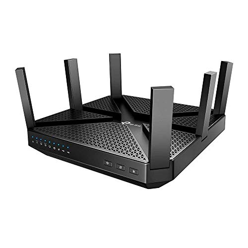 TP-Link AC4000 Smart WiFi Router - Tri Band Router, MU-MIMO, VPN Server, Advanced Security by...