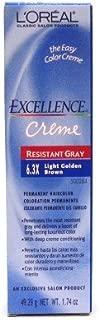 L'Oreal Excellence Creme Resistant # 6.3X Light Golden Brown 1.74 oz. (Case of 6) by L'Oreal Paris