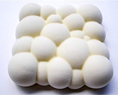 AKAMAS Moule à gâteau 3D en Silicone en Forme de Nuage avec Bulles