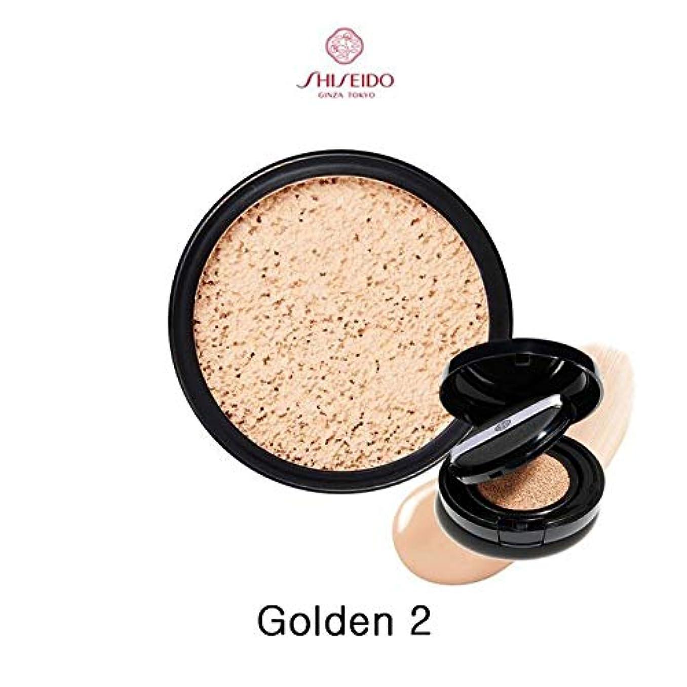 潤滑する難しい重さSHISEIDO 資生堂 シンクロスキン グロー クッションコンパクト オークル10 レフィル(Golden 2)