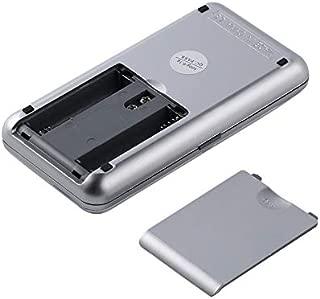 Schwarz 1 kg Hochpr?zise elektronische Mini-Taschenwaage Digital Weight Grams f/ür Schmuck Digital LCD-Display LED-Hintergrundbeleuchtung 0,1 g