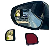 LivTee 2PCS Fan Blind Spot Mirror, HD Glass and...