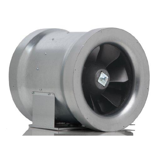 Can-Fan HGC736835 Max-Fan Energy Saving Mixed Flow Fan 12' - 1709 CFM, 120 Volt Silver