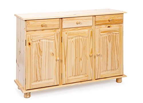 Links, Credenza in pino, 43 x 130 x 87 cm