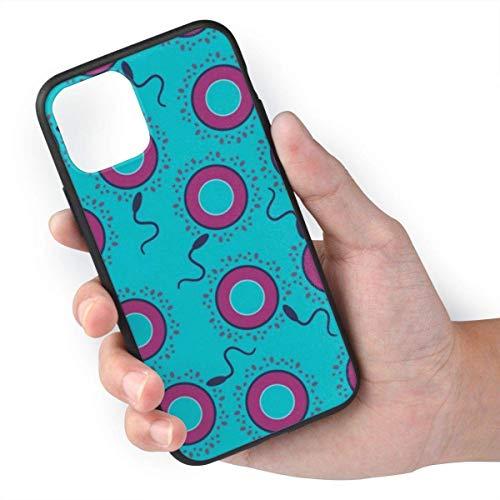 Spermien-Ei-Kondom TPU + Ausgewählte importierte umweltfreundliche PC-Materialien, können verhindern, DASS Harte Gegenstände Kratzer auf dem Körper hinterlassen. Geeignet für iPhone 11