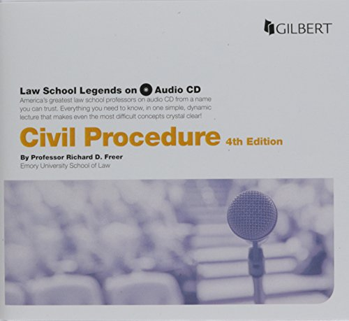 Law School Legends Audio on Civil Procedure (Law School Legends Audio Series)