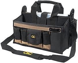 CLC Custom LeatherCraft 1529 16 In. Center Tray Tool Bag, 16 Pocket