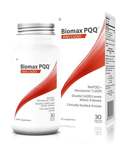 Coyne Healthcare Biomax Microactive Coq10 Supplement with PQQ 30 Vegetable Capsules