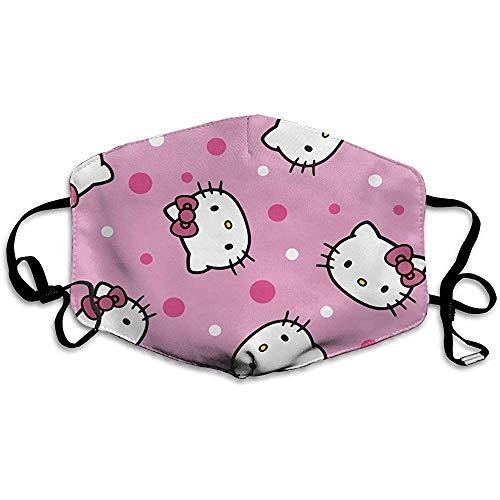 Staubdichte Masken, geeignet zum Laufen und Radfahren im Freien, Hello Kitty