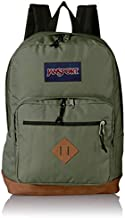 JanSport City View Backpack -15-inch Laptop School Pack, Muted Green