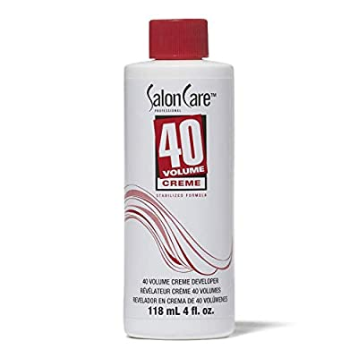 Salon Care 40 Volume Creme Developer, 4 ounce