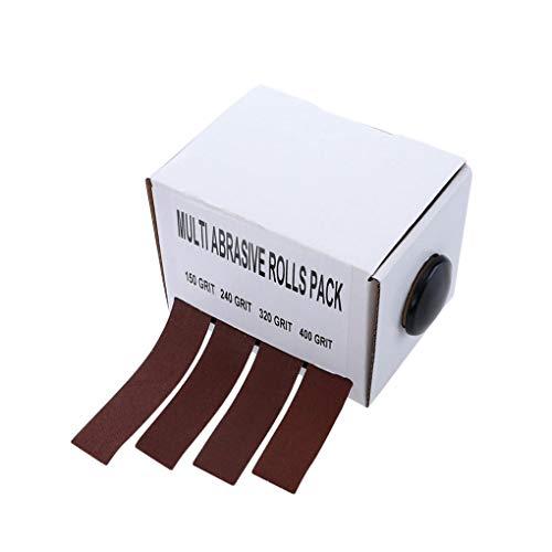 BJ-SHOP Schritte Band,Sicherheitsbander Hochfeste Sicherheitszeichen Starker Griff Abrasives Anti-Rutsch-Band fur Innen und Aubentreppen 50mmX5m