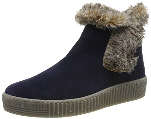 Gabor Shoes Damen Jollys Stiefeletten, Blau (Marine/Natur(Fumo) 16), 44 EU