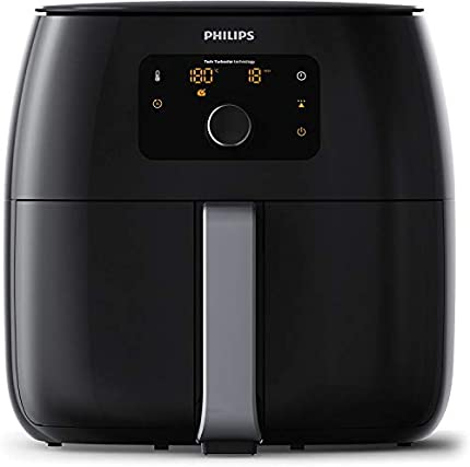 Philips Avance Collection Airfryer XXL HD9652/90 - Freidora (Freidora, 1,4 kg, Solo, Negro, Giratorio, Tocar, Independiente)