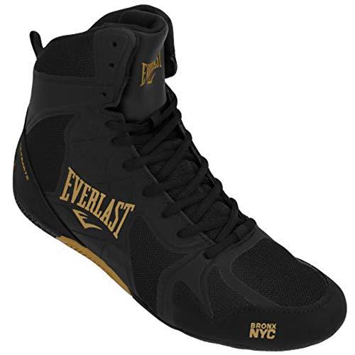 Everlast Ultimate Shoe, Scarpe da Boxe Unisex - Adulto, Nero (Black/Silver Black/Silver), 40 EU