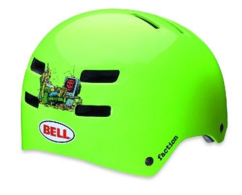 BELL Fahrradhelm Faction, Allan Cooke Neon Green, Größe: M