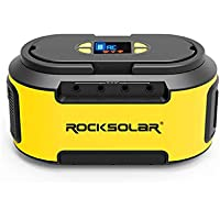 Rocksolar 4019383 200W Portable Power Station With Dual-LED Flashlight / AC / DC & USB Output