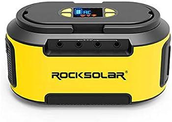 Rocksolar 200W Portable Power Station With Dual-LED Flashlight