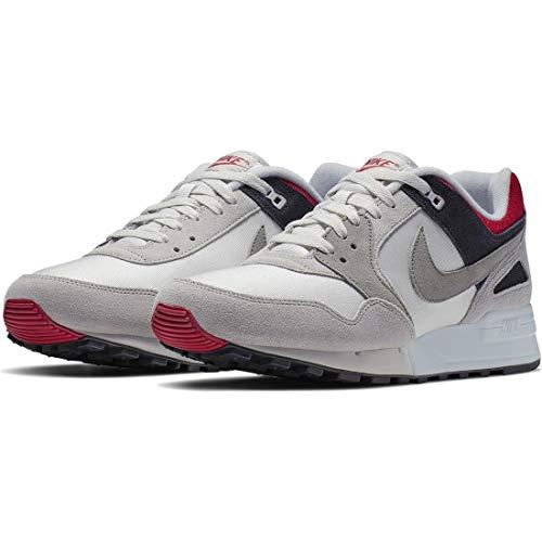 Nike Air Pegasus '89 Se, Zapatillas de Atletismo para Hombre, Multicolor (Swan/Medium Grey/Rose Coral/Black 000), 41 EU