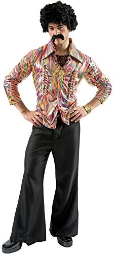 70s Costumes: Disco Costumes, Hippie Outfits Orion Costumes Mens Disco Dancer Mens Costume Retro Fancy Dress 70s Outfit  AT vintagedancer.com